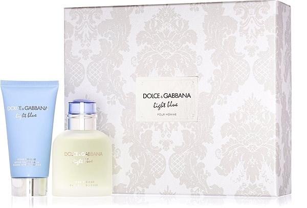 DOLCE &GABBANA Blue Light Pour Homme EdT készlet 150 ml - Parfüm ajándékcsomag