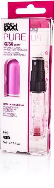 Travalo Refill Atomizer Perfume Pod Pure Essential 5 ml Pink - Újratölthető parfümszóró