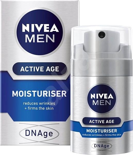 NIVEA Men Active Age DNAge Moisturiser 50 ml - Férfi arckrém