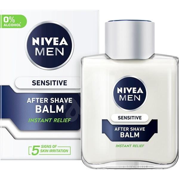 NIVEA Men Sensitive After Shave Balm 100 ml - Borotválkozás utáni balzsam