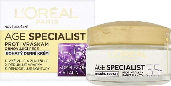 ĽORÉAL PARIS Age Specialist 55+ Day Cream 50 ml - Arckrém
