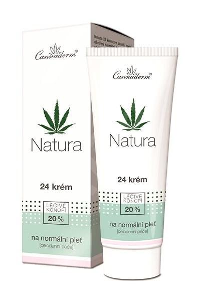 CANNADERM Natura 24 Krém normál bőrre 75 g - Arckrém