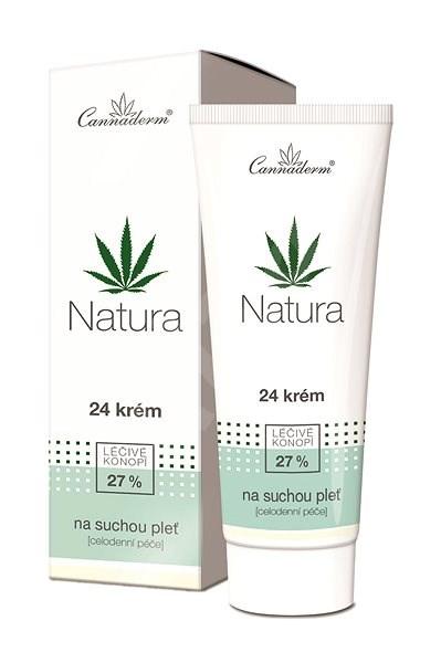 CANNADERM Natura 24 Krém száraz és érzékeny bőrre 75 g - Arckrém