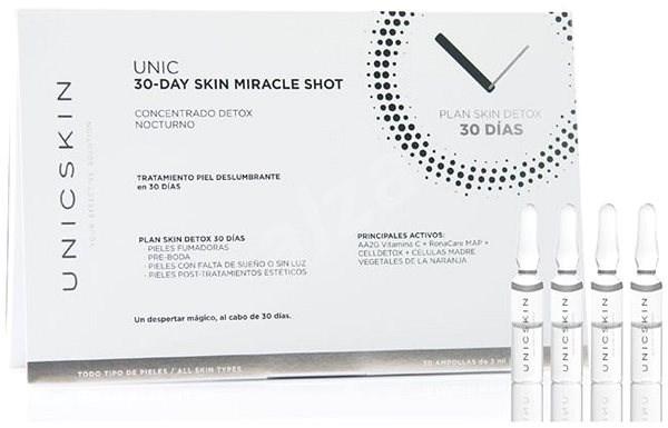 UNICSKIN Unic30-Day Skin Miracle Detox Treatment Vials 30× 2 ml - Ampulla