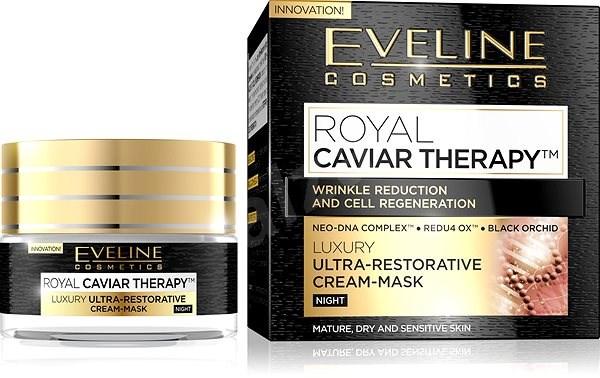 EVELINE Cosmetics Royal Caviar Ultra-Repair Night Cream-Mask 50 ml - Arckrém