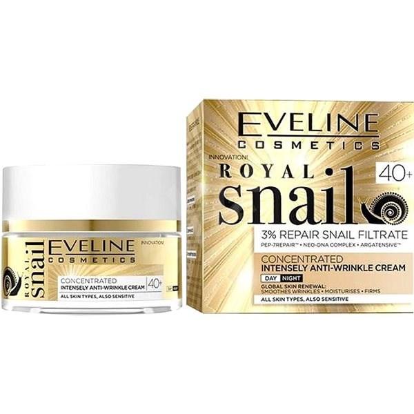 EVELINE Cosmetics Royal Snail Day And Night Cream 40+ 50 ml - Arckrém