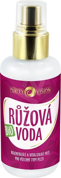 PURITY VISION Rózsavíz BIO 100 ml - Arctisztító víz