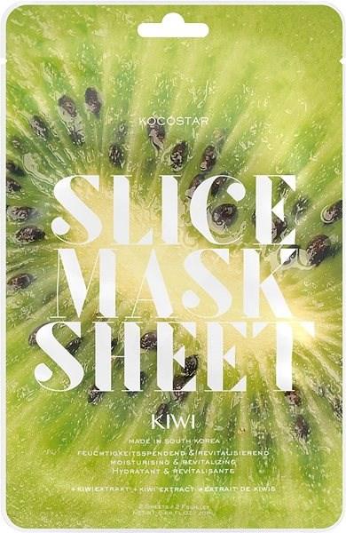 KOCOSTAR Slice Mask Sheet Kiwi 20 ml - Arcpakolás