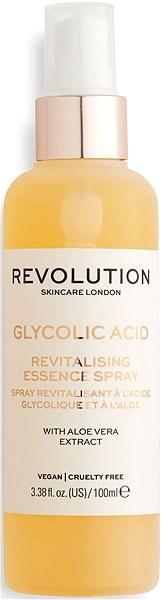 REVOLUTION SKINCARE Glikolic és Aloe Essence spray 100 ml - Spray