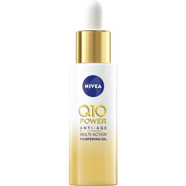 NIVEA Q10 Power Anti-Age Multi-Action Pampering Oil 30 ml - Arcápoló olaj
