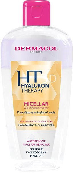 DERMACOL Hyaluron Therapy 3D Micellar Oil-infused Water - Micellás víz