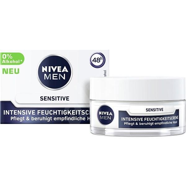 NIVEA MEN Sensitive Intensive Face Cream 50 ml - Férfi arckrém