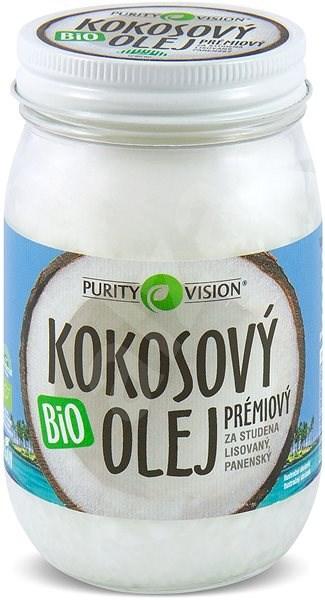 PURITY VISION Fair Trade BIO Szűz kókuszolaj 420 ml - Olaj