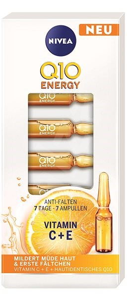 Nivea Q10 plus C ránctalanító hatású, 7 napos kezelés 7 × 1 ml - Ampulla