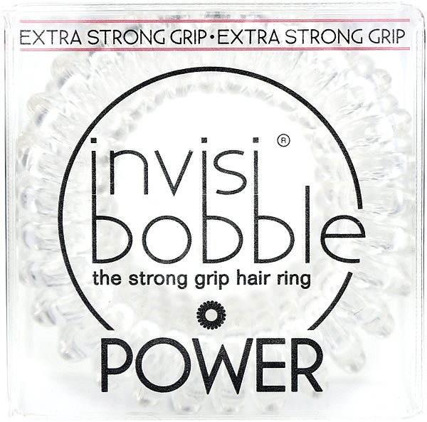INVISIBOBBLE Power Crystal Clear hajgumi szett - Hajgumi