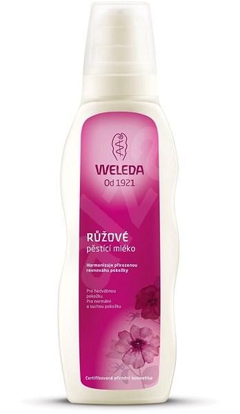 WELEDA 200 ml-es, rózsaszín testápoló - Testápoló tej
