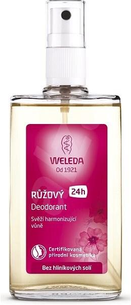 WELEDA 100 ml-es rózsaszín, női dezodor - Női dezodor