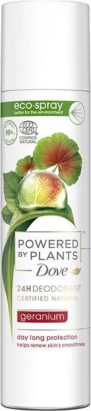 DOVE Power by Plants Geranium 75 ml - Női dezodor