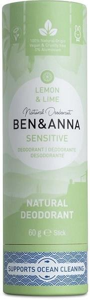 BEN&ANNA Sensitive Deo Lemon & Lime 60 g - Dezodor