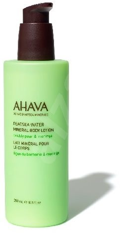 AHAVA Dead Sea Water Mineral Body Lotion Prickly Pear & Moringa 250 ml - Testápoló tej