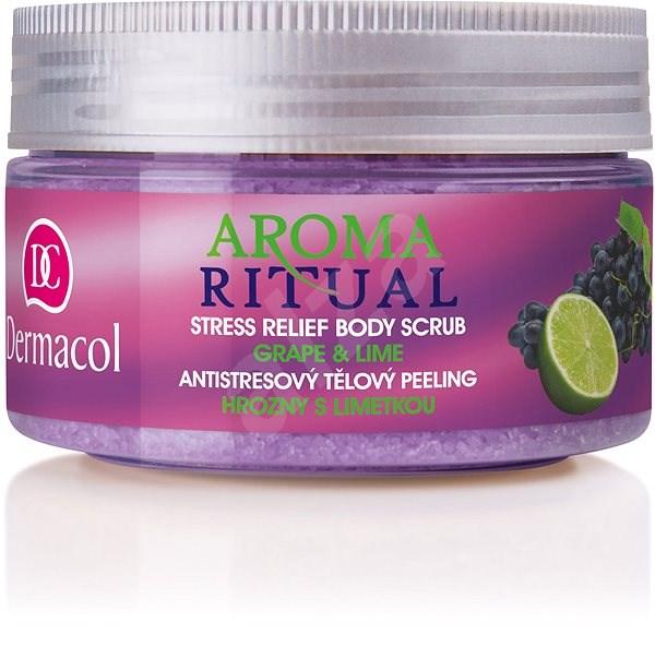DERMACOL Aroma Ritual Grape & Lime Stress Relief Body Scrub 200 g - Hámlasztó
