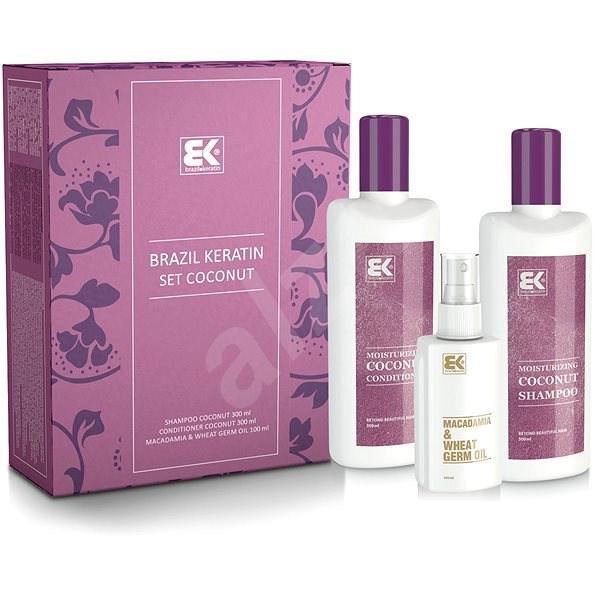 BRAZIL KERATIN Kókusz szett - Kozmetikai ajándékcsomag