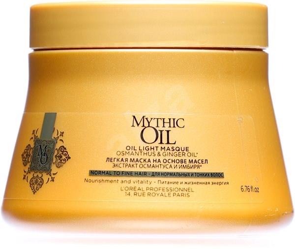ĽORÉAL PROFESSIONNEL Mythic Oil Masque Fine Hair 200 ml - Hajpakolás