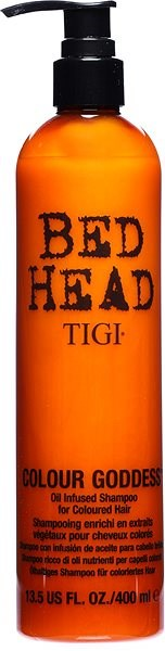 TIGI Bed Head Colour Goddess Oil Infused Shampoo 400 ml - Sampon