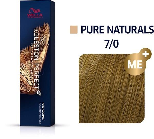 WELLA PROFESSIONALS Koleston Perfect Pure Naturals 7/0 (60 ml) - Hajfesték