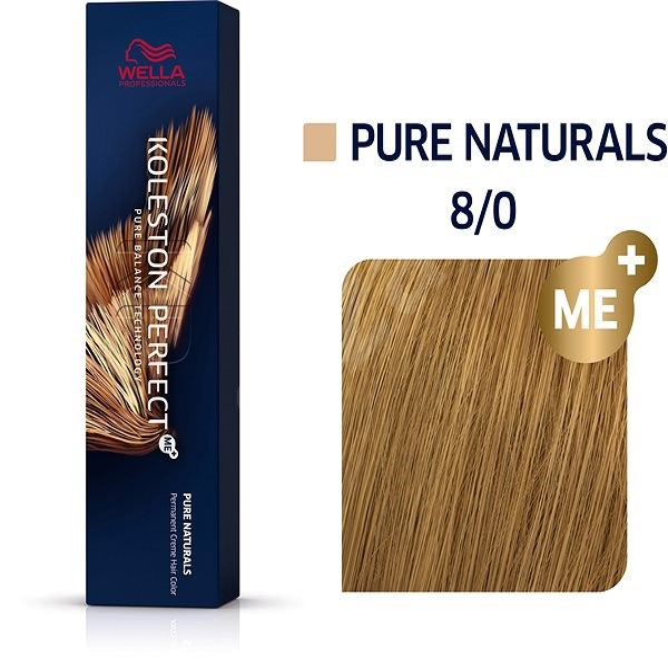 WELLA PROFESSIONALS Koleston Perfect Pure Naturals 8/0 (60 ml) - Hajfesték