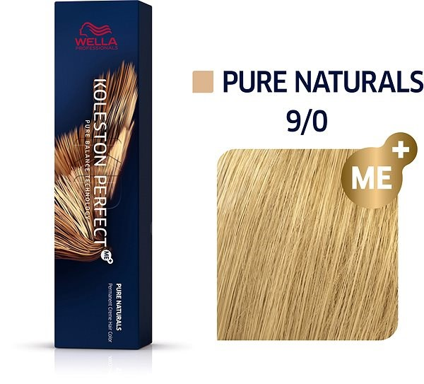 WELLA PROFESSIONALS Koleston Perfect Pure Naturals 9/0 (60 ml) - Hajfesték