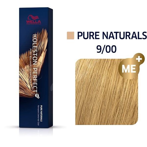 WELLA PROFESSIONALS Koleston Perfect Pure Naturals 9/0 (60 ml) - Hajfesték