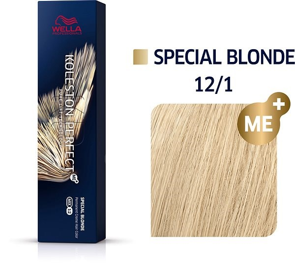 WELLA PROFESSIONALS Koleston Perfect Special Blondes 12/1 (60 ml) - Hajvilágosító