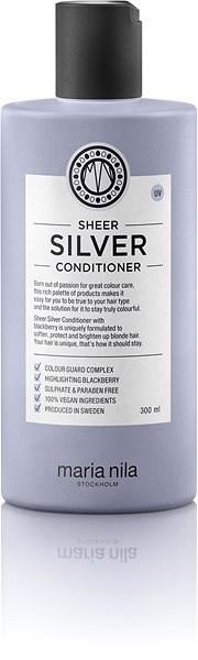 MARIA NILA Sheer Silver 300 ml - Hajbalzsam