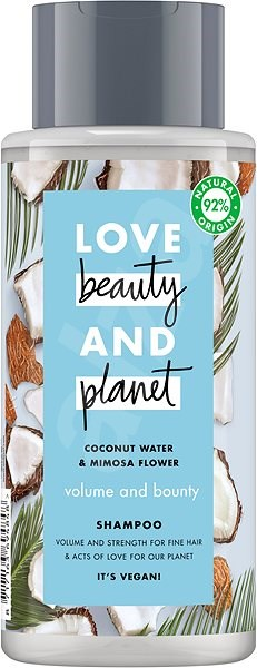 LOVE BEAUTY AND PLANET Volume and Bounty Shampoo 400 ml - Sampon
