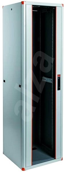 """Legrand EvoLine 19"""" állványos kapcsolószekrény 42U, 600x1000mm, 1000kg, egyszárnyú üvegajtó - Kapcsolószekrény"""