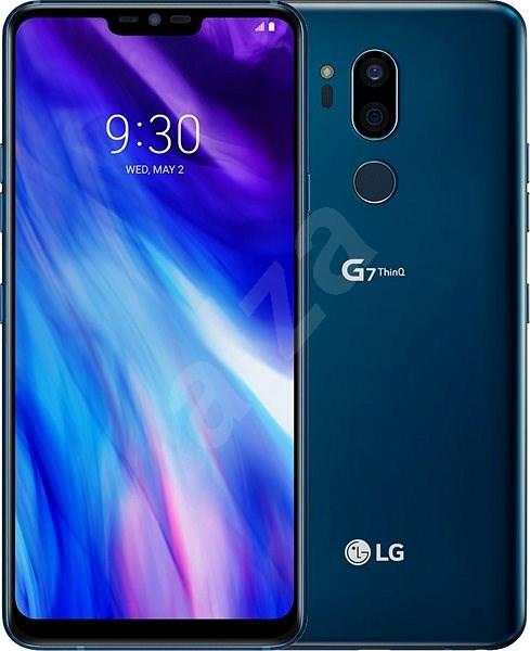LG G7 ThingQ Moroccan Blue Mobiltelefon | Alza.hu