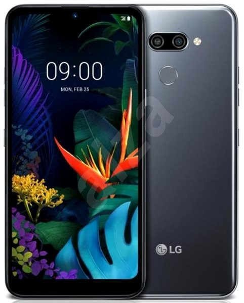 LG K50, fekete - Mobiltelefon