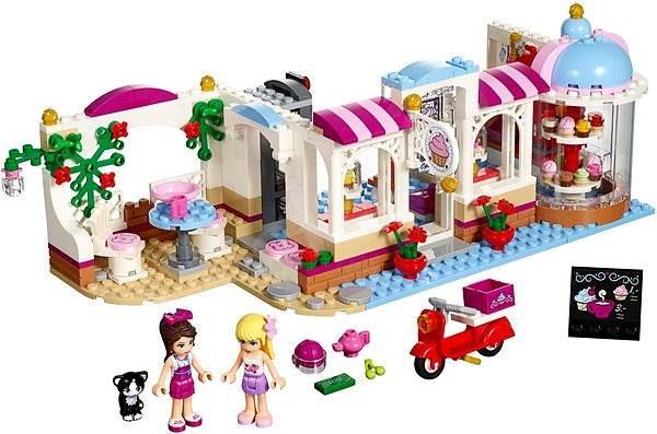 28c4fccc801f LEGO Friends 41119 Heartlake Cukrászda - Építőjáték | Alza.hu