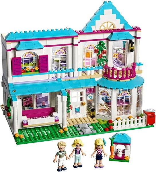 bdc5117a450e LEGO Friends 41314 Stephanie háza - Építőjáték | Alza.hu