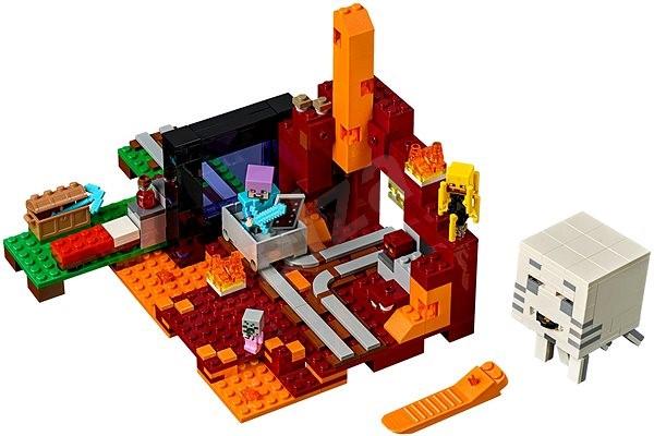 LEGO Minecraft 21143 - Az Alvilág kapu - Építőjáték