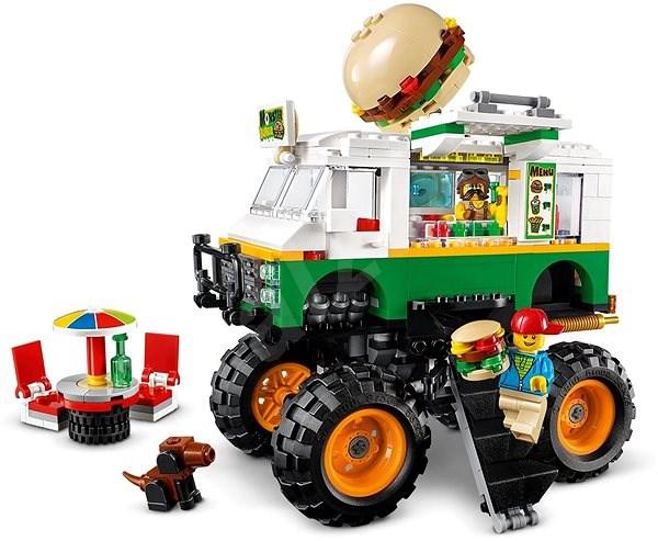 LEGO Creator 31104 Óriás hamburgeres teherautó - LEGO