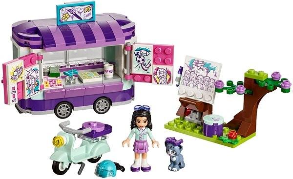 LEGO Friends 41332 Emma mozgó galériája - Építőjáték