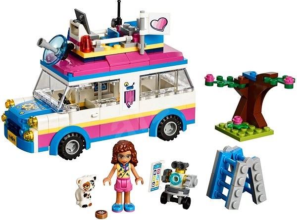 LEGO Friends 41333 Olivia felderítő járműve - Építőjáték