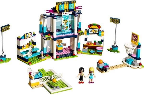 LEGO Friends 41338 Stephanie sportközpontja - Építőjáték