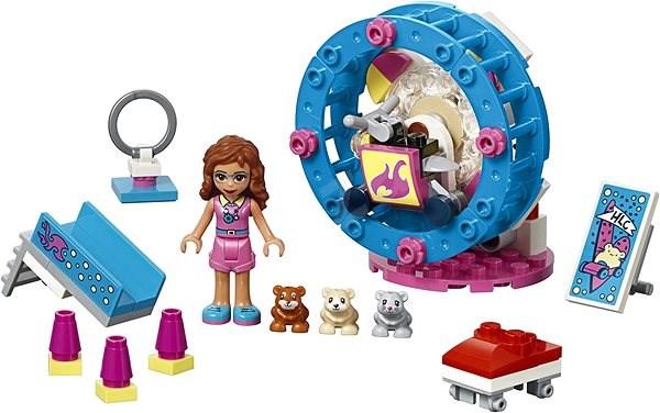 LEGO Friends 41383 Olivia hörcsögjátszótere - Építőjáték