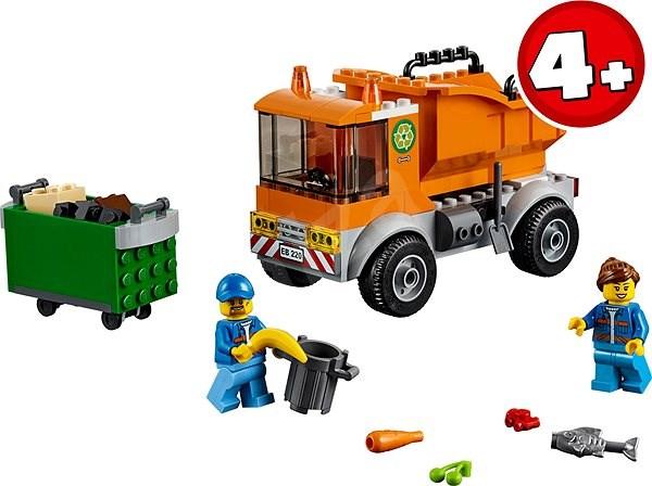 LEGO City 60220 Szemetes autó - Építőjáték