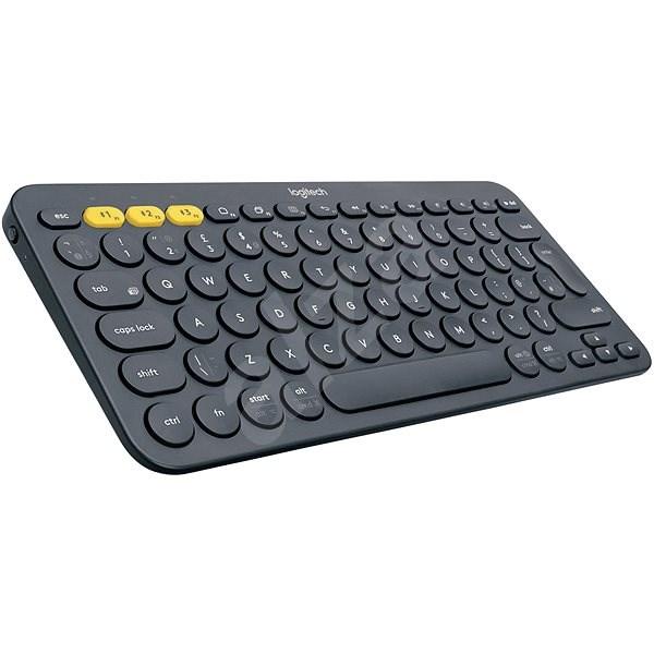 Logitech Bluetooth Multi-Device Keyboard K380 sötétszürke - Billentyűzet