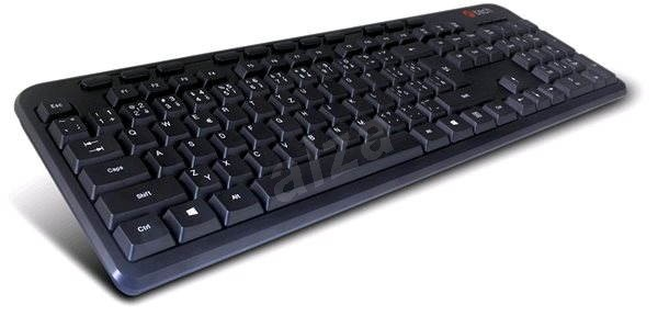 C-TECH KB-102M USB slim fekete - Billentyűzet
