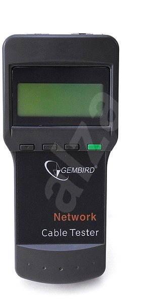 Gembird NCT-3 Ethernet kábel tesztelő RJ11/ RJ45/ RG58 számára - Teszter